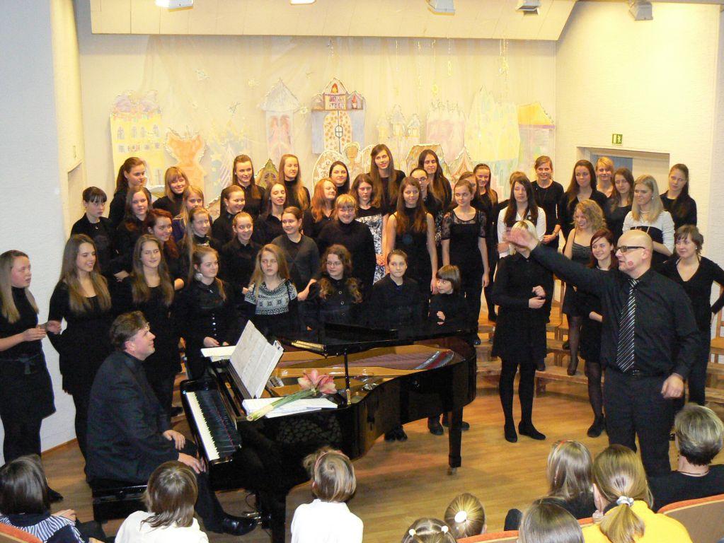 Chorinio dainavimo mokinių koncertas