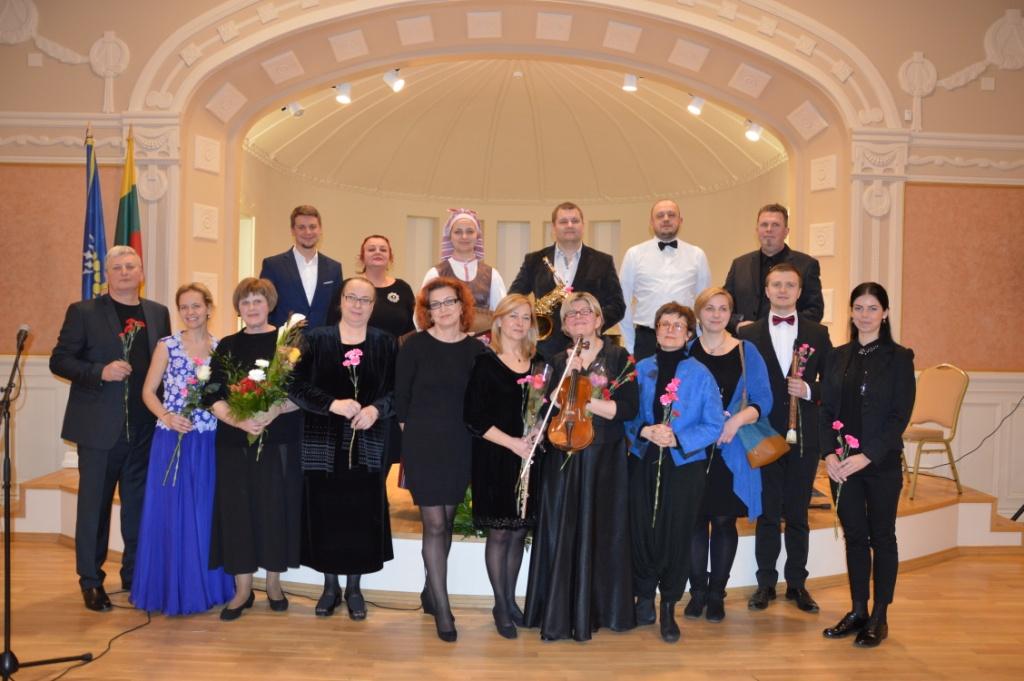 Mokytojų koncertas 2016