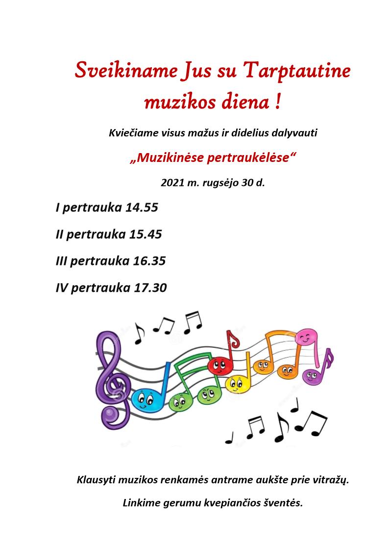 Muzikinės pertraukėlės